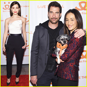 Emmy Rossum Helps Raise Funds At Best Friends Animal Society Benefit To Save Them All!