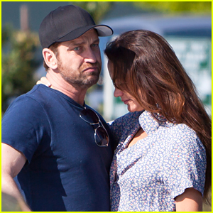 Gerard Butler & Morgan Brown Share Intimate Moment in Malibu