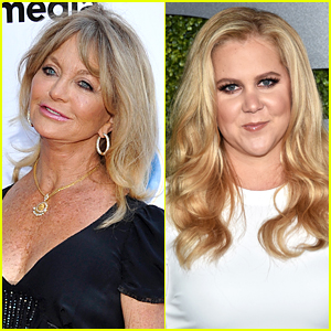 Goldie Hawn Gives Details on Mother Daughter Comedy With Amy Schumer