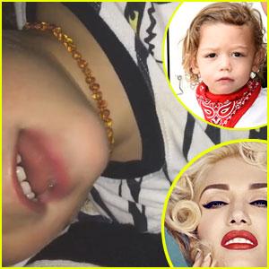 Gwen Stefani's Son Apollo Tells Her Fans to Buy Album (Video)