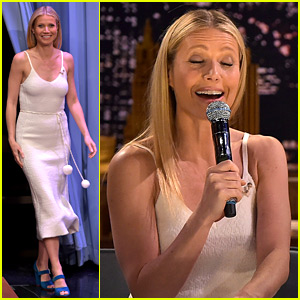 Gwyneth Paltrow Sings Awkward Texts with Jimmy Fallon!