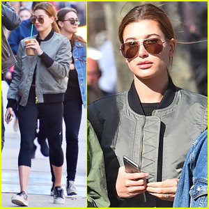Hailey Baldwin Steps Out in NYC After Paris Fashion Week
