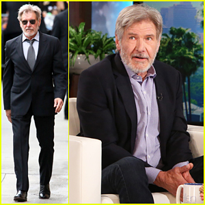 Harrison Ford Talks Playing 'Indiana Jones' Again, Makes Surprise Visit On 'Ellen'!