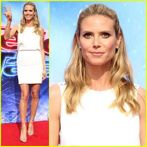 Heidi Klum Kicks Off 'America's Got Talent' Season 11