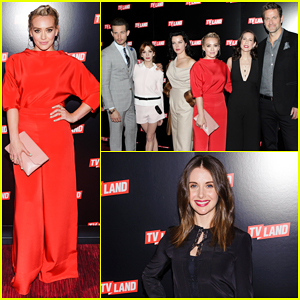 Hilary Duff Joins 'Younger' Cast At TV Land Upfront 2016!