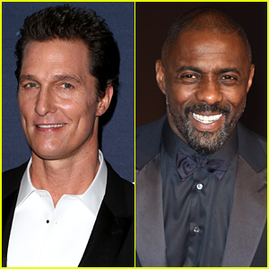 Matthew McConaughey & Idris Elba to Star in Stephen King's 'The Dark Tower'
