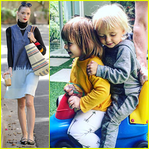 Jaime King & Teresa Palmer's Kids Get Together for a Playdate!