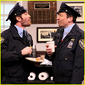Jake Gyllenhaal & Jimmy Fallon Spit Food At Each Other in Funny Sketch - Watch Now!