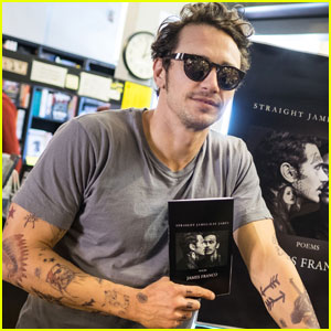 James Franco Promotes His Book 'Straight James/Gay James'