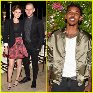 Jamie Bell & Kate Mara Celebrate 'The Journal' at Sunset Tower Dinner