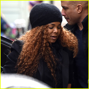 Janet Jackson Steps Out After Elton John's Diss