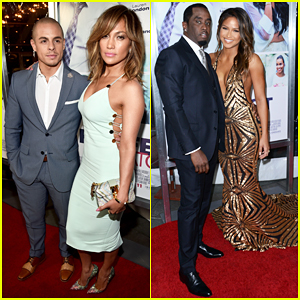 Jennifer Lopez & Ex Sean Combs Couple Up At 'The Perfect Match' L.A. Premiere!