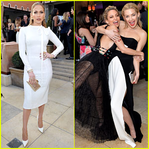 Jennifer Lopez & Kate Hudson Present to Their Friends at Daily Front Row Awards 2016!