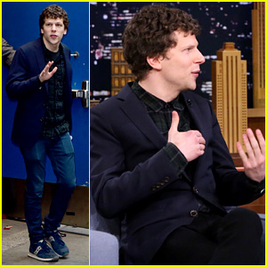Jesse Eisenberg Discusses Lex Luthor on 'Tonight Show' - Watch Now!