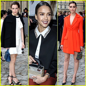 Jessica Alba, Riley Keough, & More Step Out for Dior at PFW!