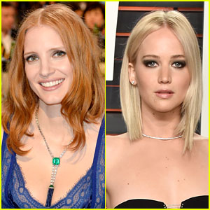Jessica Chastain Never Had a Rivalry with Jennifer Lawrence