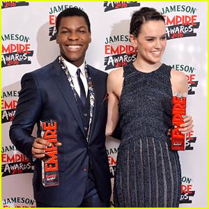 John Boyega & Daisy Ridley Win Best Newcomer Awards at Jameson Empire Awards 2016