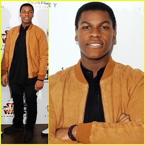 John Boyega Hypes 'Star Wars' Trilogy: 'Finn Ain't Playing No More'!