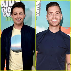 Jonathan Bennett & Nick Fradiani Rep TV Show Noms at Kids Choice Awards 2016