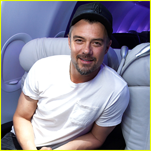 Josh Duhamel Takes Flight On Virgin America's Inaugural San Francisco To Denver Service Launch!