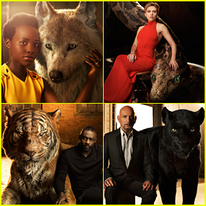 'Jungle Book' Actor & Character Portraits Revealed!