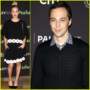 Kaley Cuoco & 'Big Bang Theory' Cast Attend PaleyFest