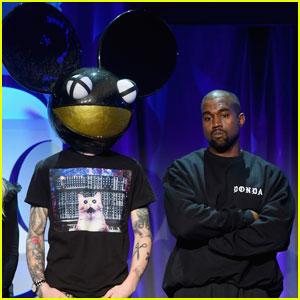 Deadmau5 Responds to Kanye West, Calls Him a 'Clown'