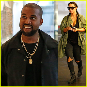 Kanye West Posts Heartwarming Tweets After Family Day With Kim Kardashian & North