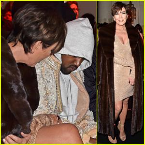 Kanye West Won't Show His Face at Balmain Paris Show
