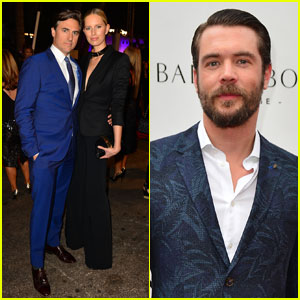 Karolina Kurkova & Charlie Weber Attend Miami Benefit Event