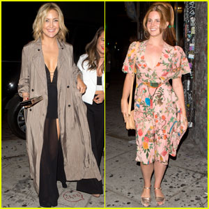 Kate Hudson & Lana Del Rey Attend Lady Gaga's Birthday Party