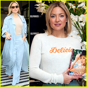 Kate Hudson Goes on Press Run for 'Kung Fu' & 'Pretty Happy'