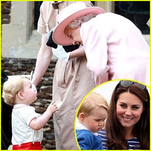 Kate Middleton Reveals What Prince George Calls the Queen