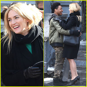 Kate Winslet Shares Cute Moment on Set with Jacob Latimore