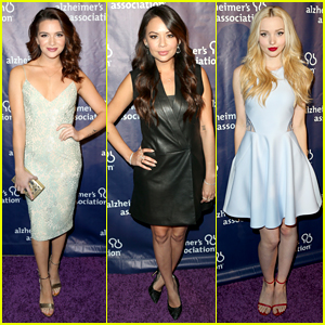 Katie Stevens & Janel Parrish Support Alzheimer's Association