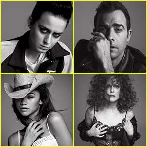 Katy Perry & Justin Theroux Front V100's Alphabet Series!