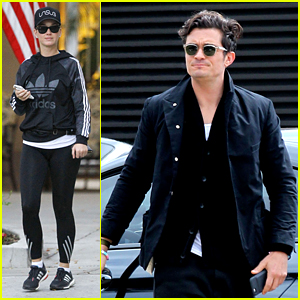 Katy Perry & Orlando Bloom Spend Their Sunday Separately