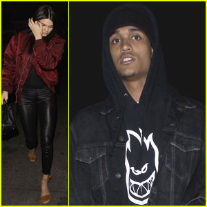 Kendall Jenner Hangs With Lakers' Jordan Clarkson After Game