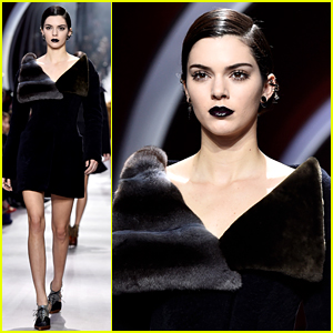 Kendall Jenner Rocks Gothic Glam for Dior Show