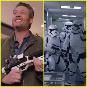 'Star Wars' Themed Kids' Choice Awards 2016 Opening Pits Blake Shelton Against Storm Troopers - Watch Now!