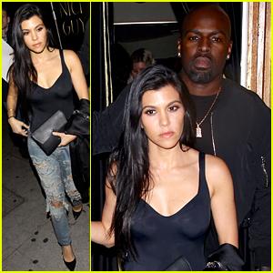 Kourtney Kardashian & Corey Gamble Bond at The Nice Guy