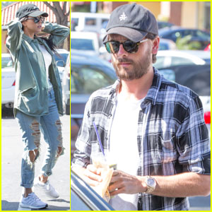 Kourtney Kardashian Spends Time With Scott Disick After His Revealing New Interview