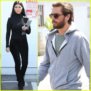 Kourtney Kardashian & Scott Disick Joke About Getting Back Together
