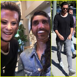 Scott Disick & Kourtney Kardashian Swap Faces on Snapchat!