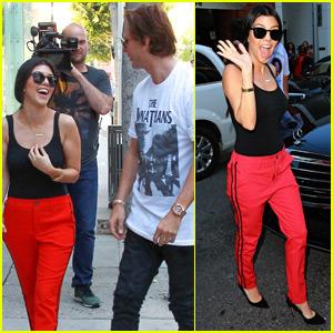Kourtney Kardashian Spends the Day With Penelope & Reign
