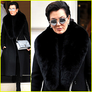 Kris Jenner Spent Her Friday Night with Karl Lagerfeld