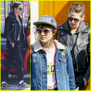 Kristen Stewart & Rumored Girlfriend Soko Visit Paris Dentist