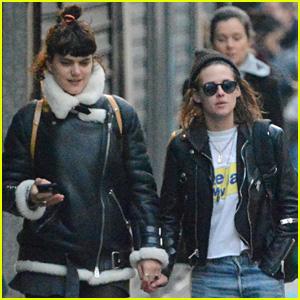 Kristen Stewart Holds Hands with Soko in Paris