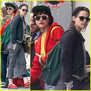 Kristen Stewart & Rumored Girlfriend Soko Share a Cab in Paris