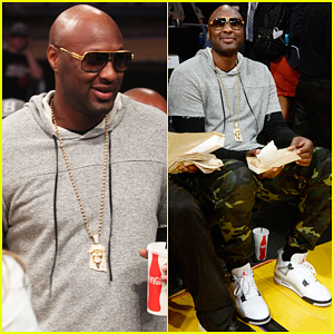 Lamar Odom Returns To Staples Center & Gets 'Goosebumps'!